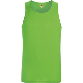 Fruit of the Loom   Performance Vest   Lime