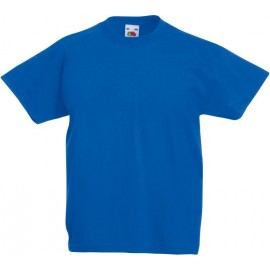 Fruit of the Loom | Kids Valueweight T | Royal Blue