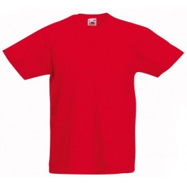 Fruit of the Loom | Kids Original T-Shirt | Red