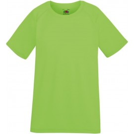 Fruit of the Loom | Kids Performance T | Lime