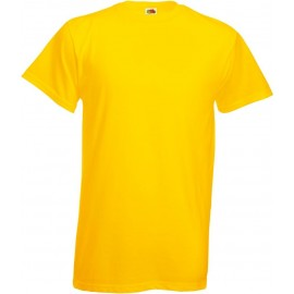 Fruit of the Loom | Heavy Cotton T | Yellow