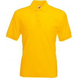 Fruit of the Loom | 65/35 Pique Polo | Sunflower