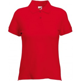 Fruit of the Loom | Lady-Fit Polo | Red