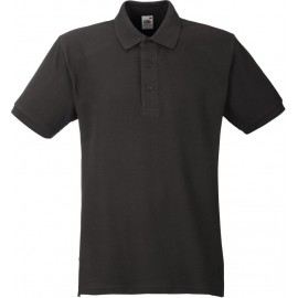 Fruit of the Loom | Heavy Polo | Charcoal