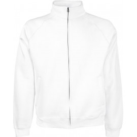 Fruit of the Loom | Classic Sweat Jacket | White