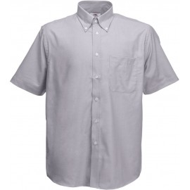 Fruit of the Loom | Oxford Shirt | Oxford Grey