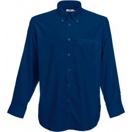 Fruit of the Loom | Oxford Shirt LS | Navy