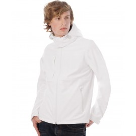 B&C | Hooded Softshell /men