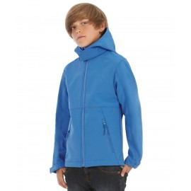B&C | Hooded Softshell /kids