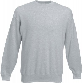 Fruit of the Loom | Set-In Sweat | Heather Grey