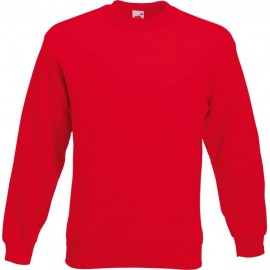 Fruit of the Loom | Premium Set-In Sweat | Red