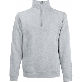 Fruit of the Loom | Zip Neck Sweat