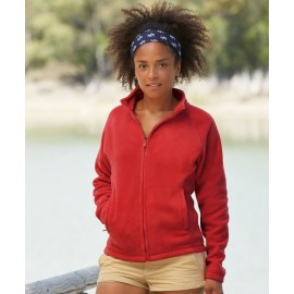 Fruit of the Loom | Lady-Fit Full Zip Fleece