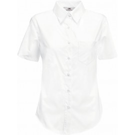 Fruit of the Loom | Lady-Fit Poplin Shirt SSL
