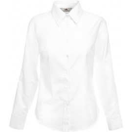 Fruit of the Loom | Lady-Fit Oxford Shirt LS
