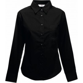 Fruit of the Loom | Lady-Fit Poplin Shirt LSL